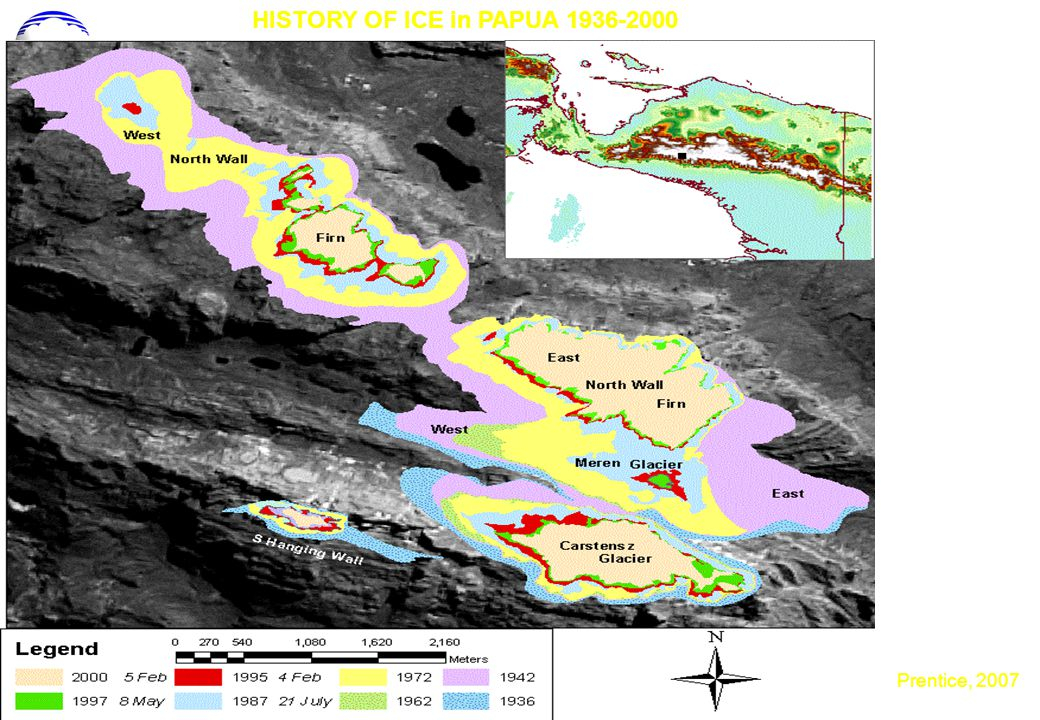HISTORY OF ICE in PAPUA 1936-2000