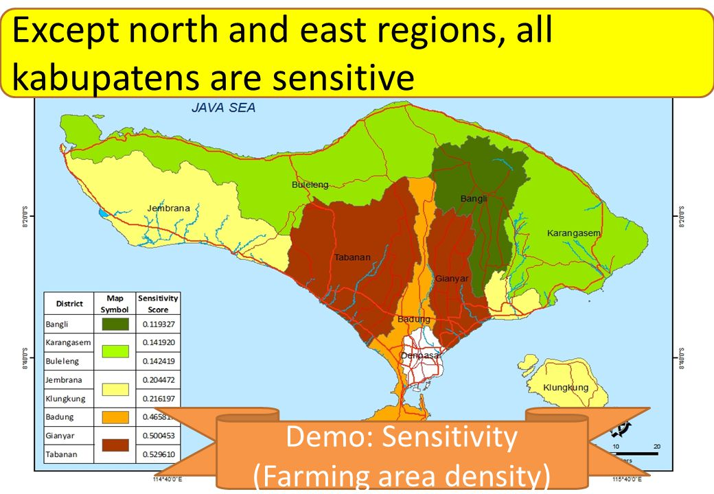 (Farming area density)