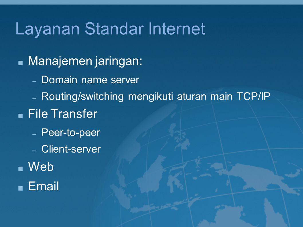 Layanan Standar Internet
