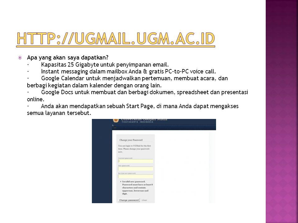 http://ugmail.ugm.ac.id