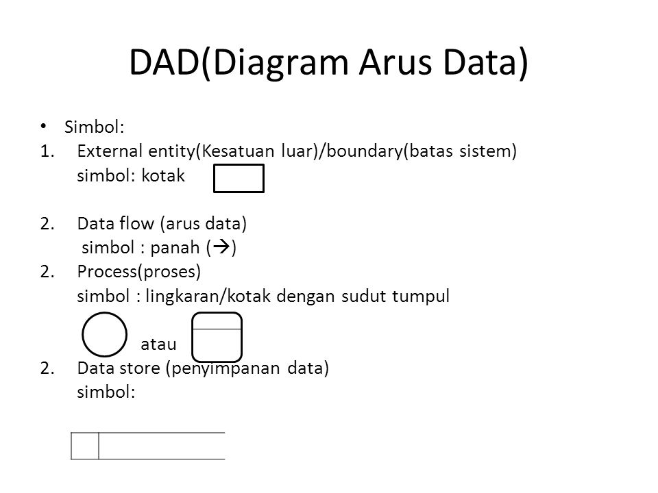 DAD(Diagram Arus Data)