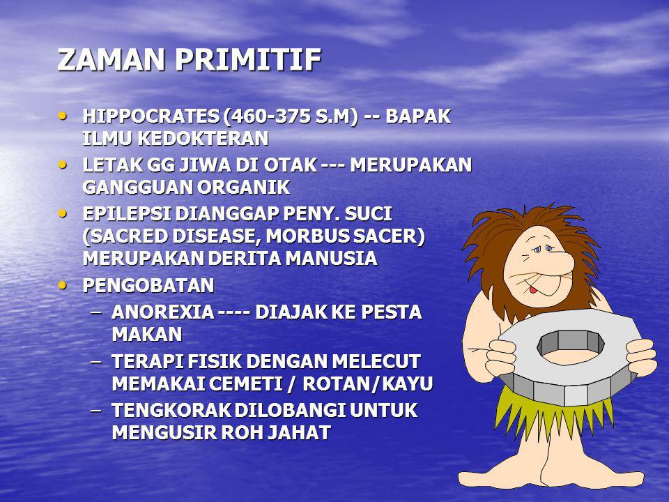 ZAMAN PRIMITIF HIPPOCRATES (460-375 S.M) -- BAPAK ILMU KEDOKTERAN