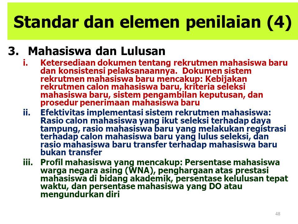 Standar dan elemen penilaian (4)