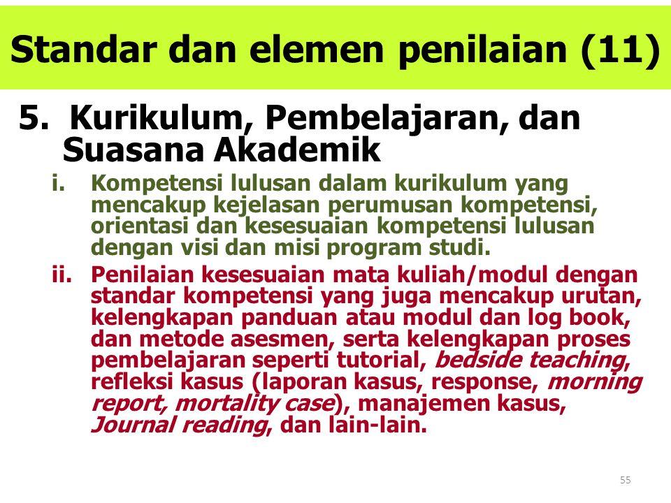 Standar dan elemen penilaian (11)