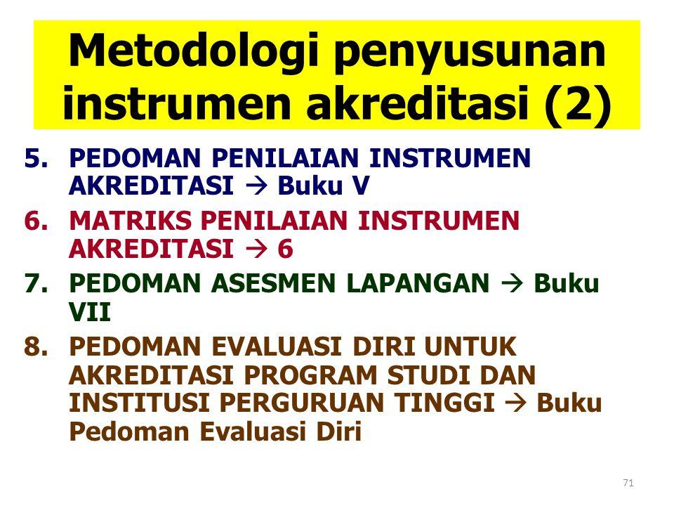 Metodologi penyusunan instrumen akreditasi (2)