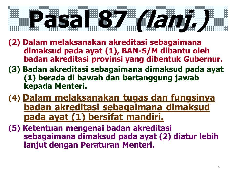 Pasal 87 (lanj.)