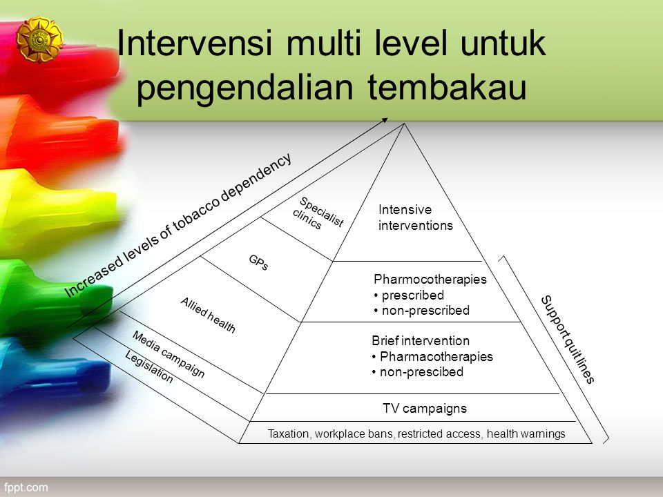 Intervensi multi level untuk pengendalian tembakau