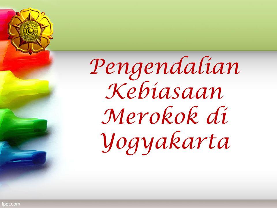 Pengendalian Kebiasaan Merokok di Yogyakarta