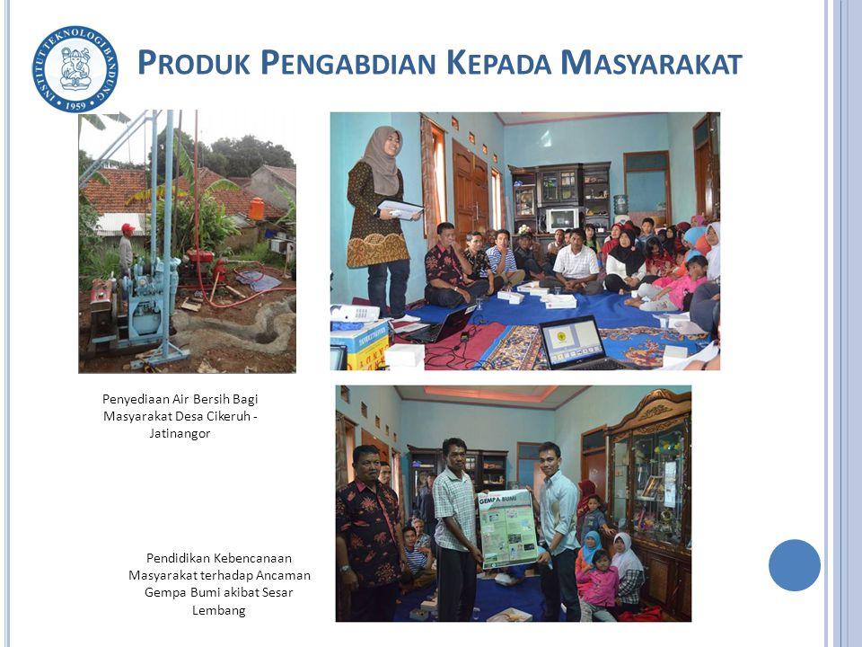 Penyediaan Air Bersih Bagi Masyarakat Desa Cikeruh - Jatinangor