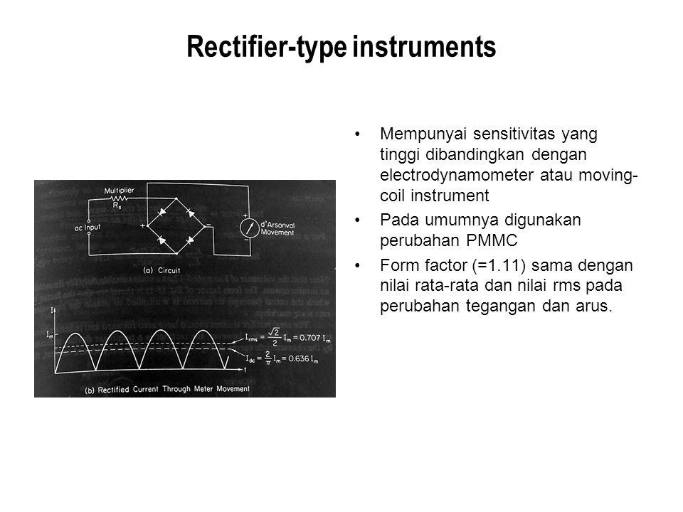 Rectifier-type instruments