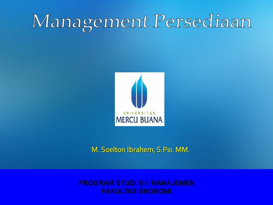 PROGRAM STUDI S-1 MANAJEMEN