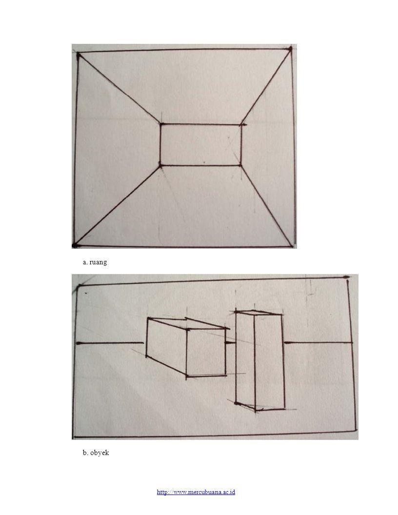 a. ruang b. obyek http://www.mercubuana.ac.id