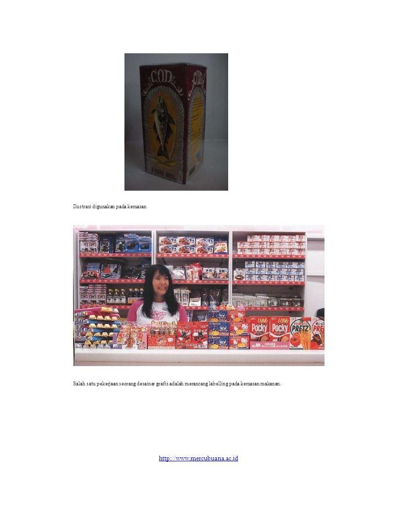 http://www.mercubuana.ac.id Ilustrasi digunakan pada kemasan