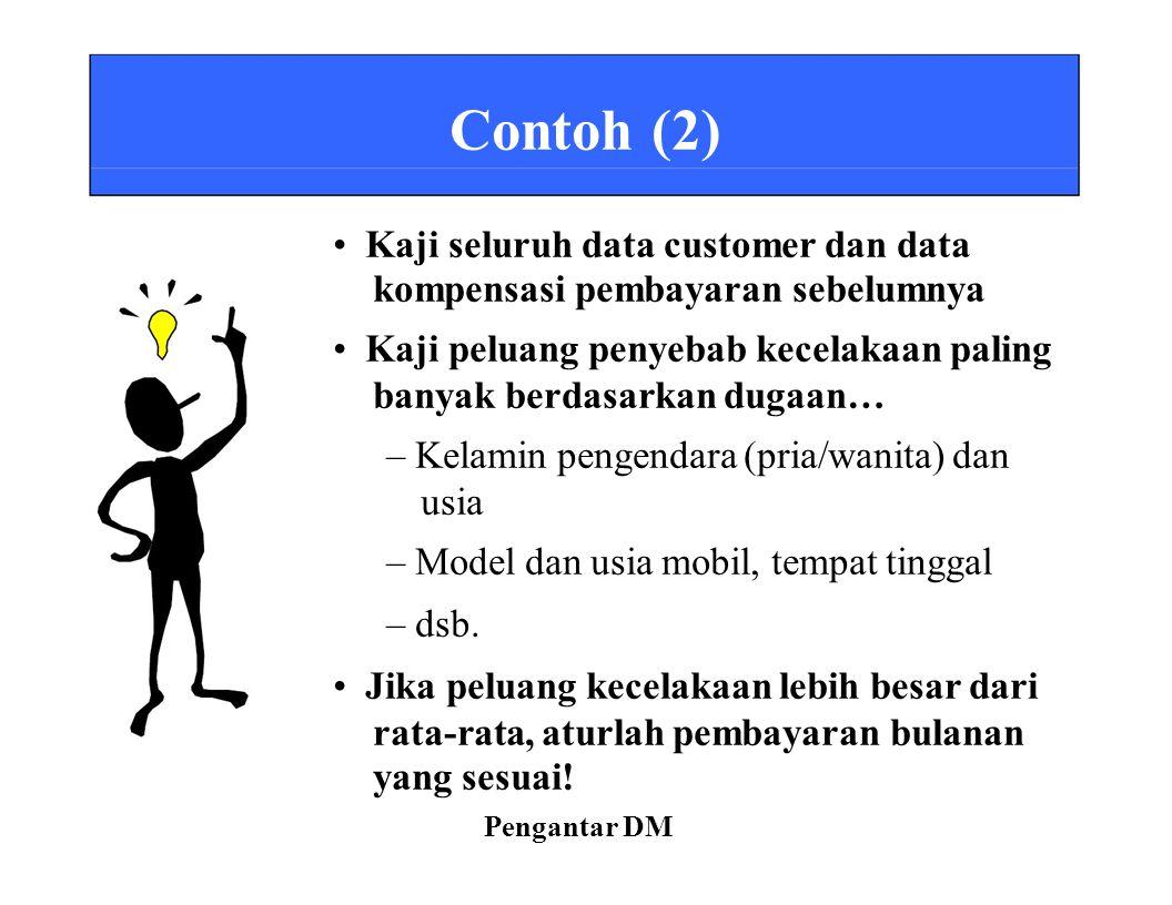 • Kaji seluruh data customer dan data kompensasi pembayaran sebelumnya