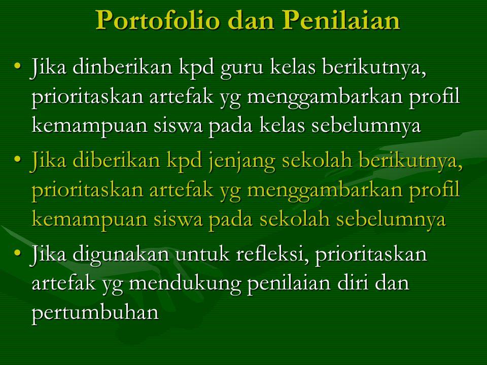 Portofolio dan Penilaian