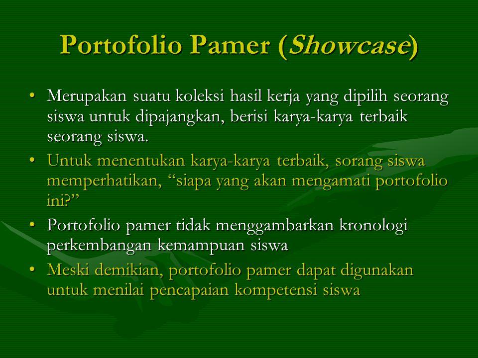 Portofolio Pamer (Showcase)
