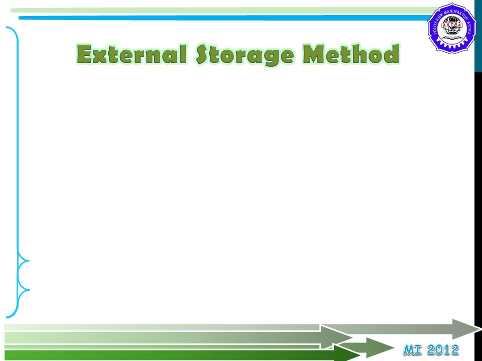 External Storage Method