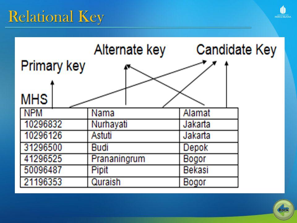 Relational Key