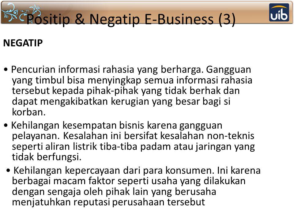 Positip & Negatip E-Business (3)