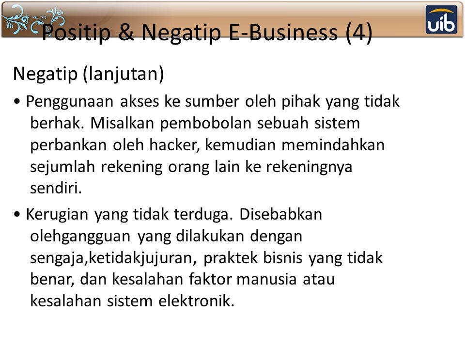 Positip & Negatip E-Business (4)