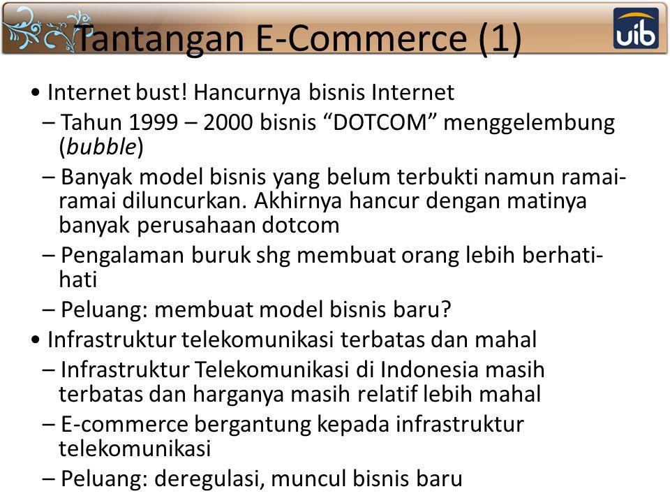 Tantangan E-Commerce (1)