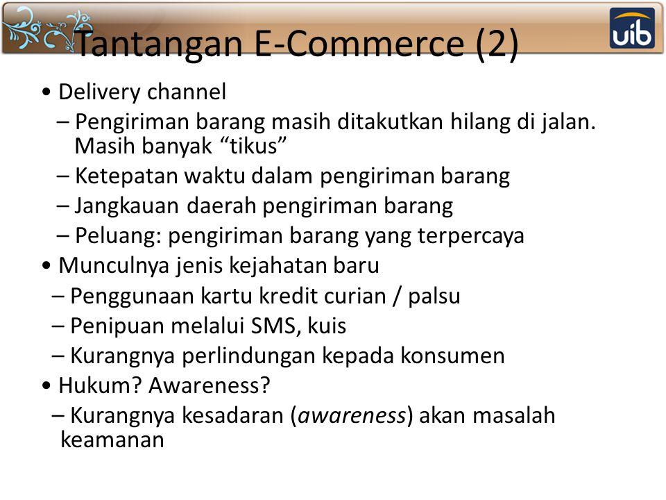 Tantangan E-Commerce (2)