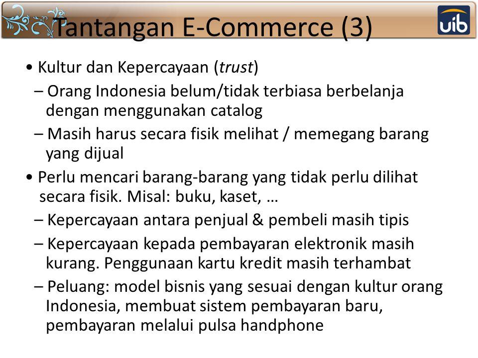 Tantangan E-Commerce (3)