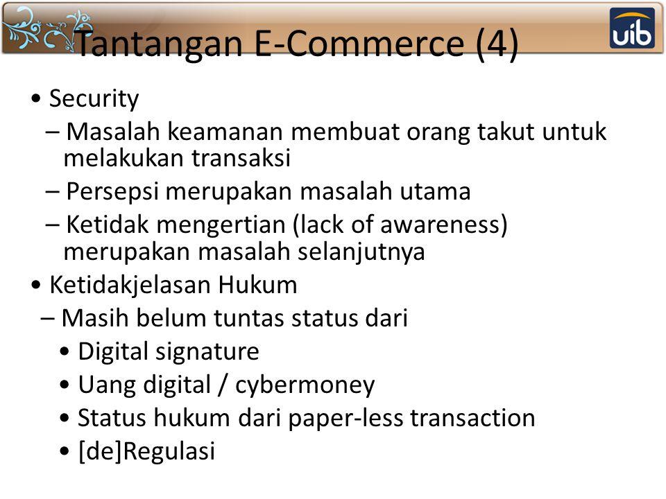 Tantangan E-Commerce (4)
