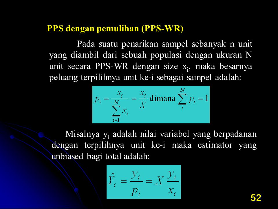 PPS dengan pemulihan (PPS-WR)