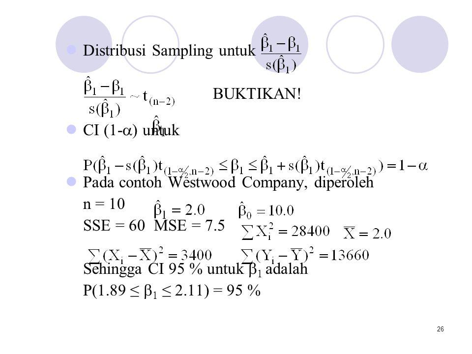 Distribusi Sampling untuk