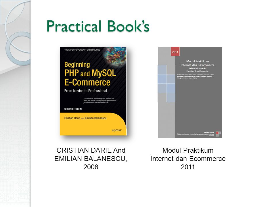 Practical Book's CRISTIAN DARIE And EMILIAN BALANESCU, 2008