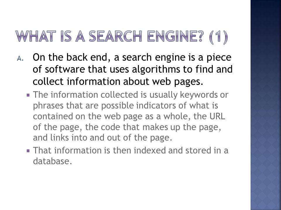 What Is a Search Engine (1)
