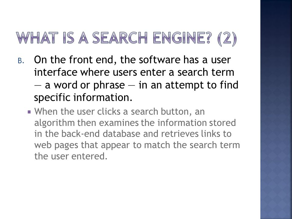 What Is a Search Engine (2)