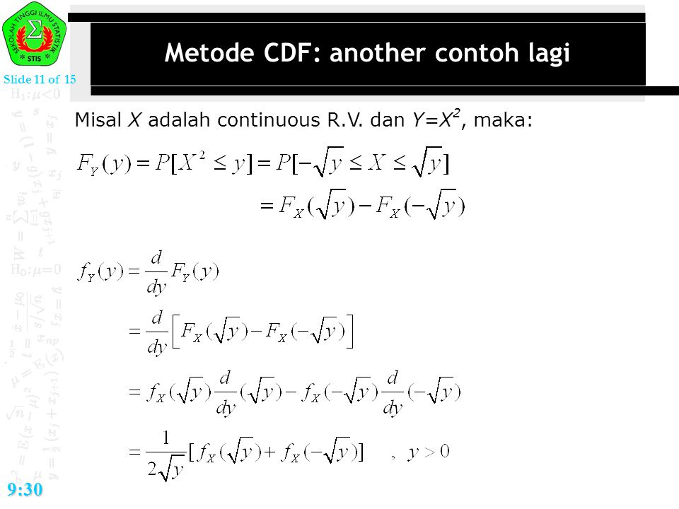 Metode CDF: another contoh lagi