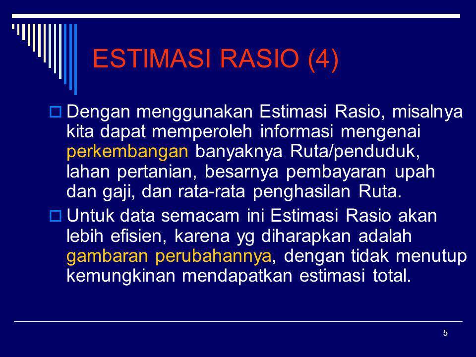 ESTIMASI RASIO (4)