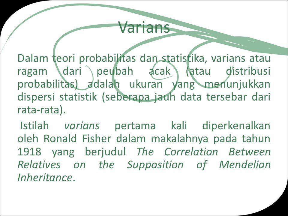 Varians