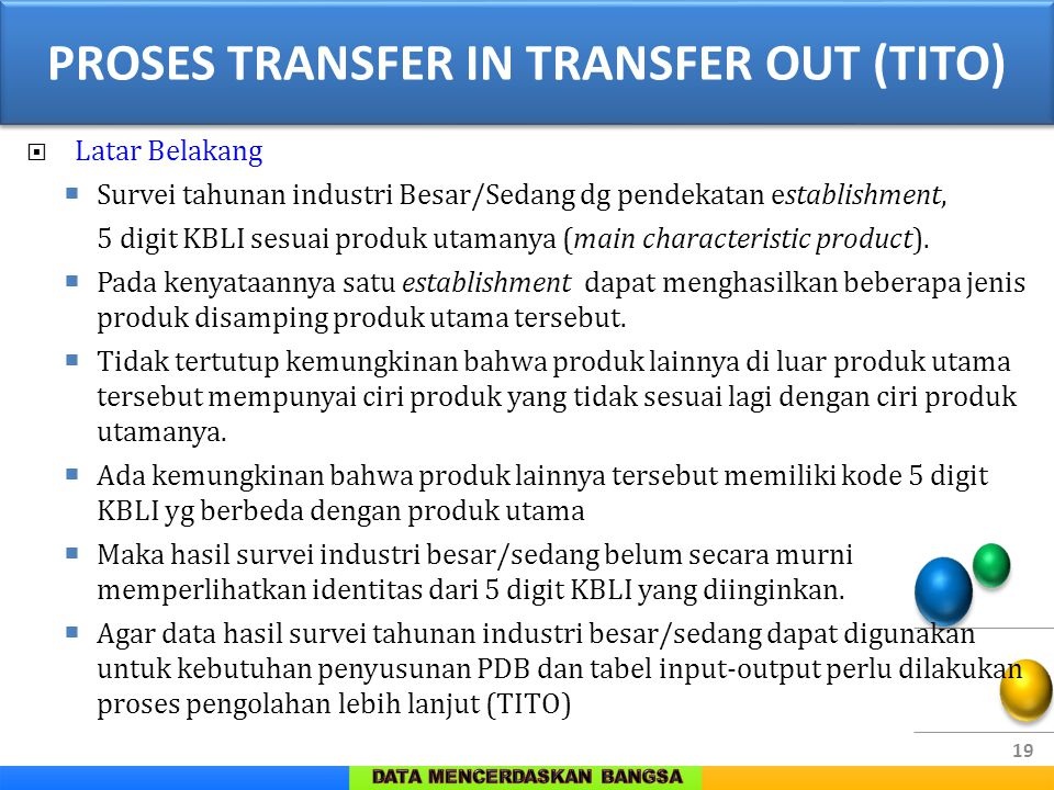 PROSES TRANSFER IN TRANSFER OUT (TITO)