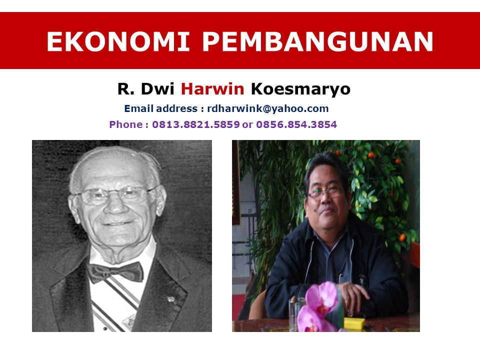 Email address : rdharwink@yahoo.com