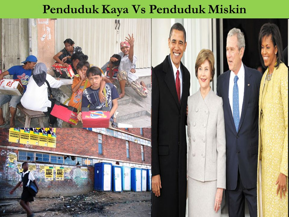 Penduduk Kaya Vs Penduduk Miskin