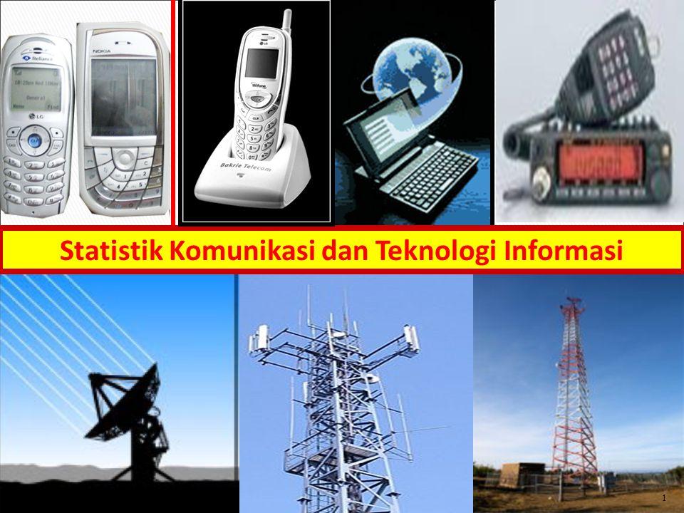 Statistik Komunikasi dan Teknologi Informasi