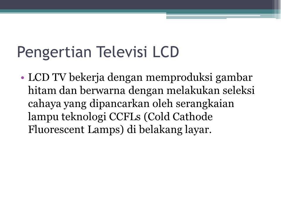 Pengertian Televisi LCD