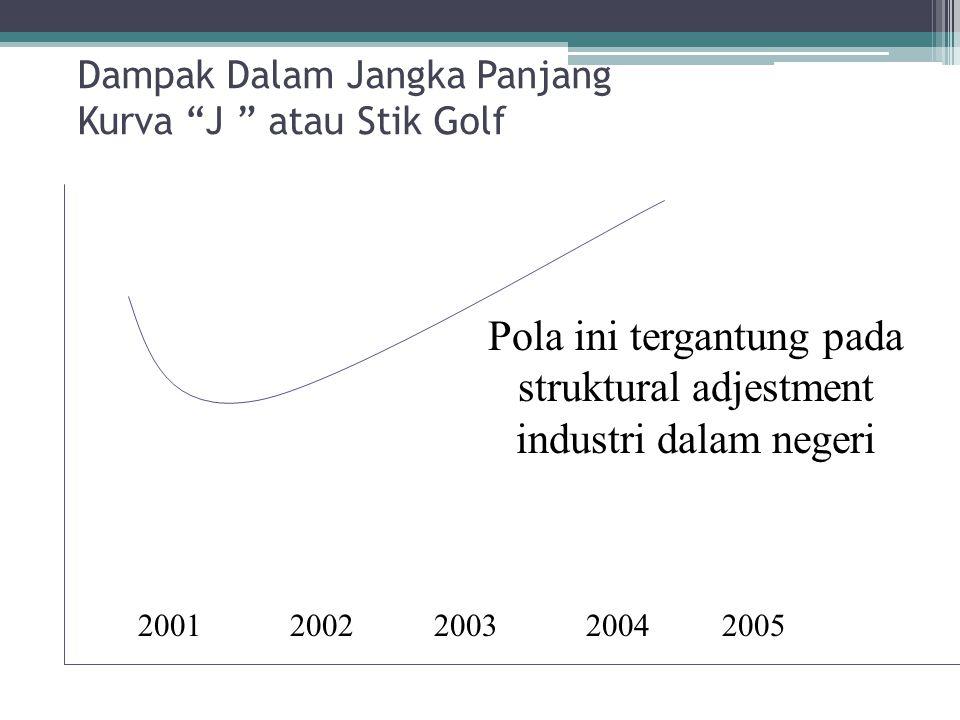 Dampak Dalam Jangka Panjang Kurva J atau Stik Golf