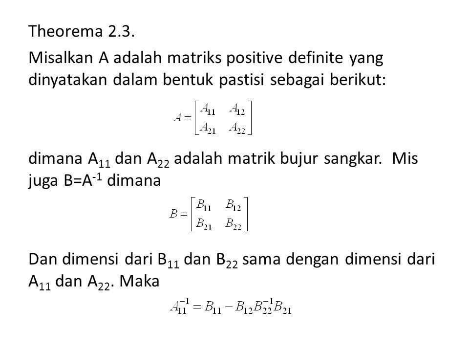 Theorema 2.3.