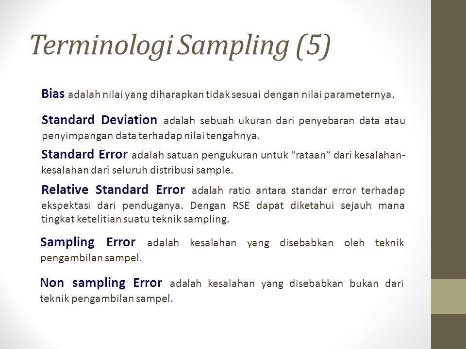 Terminologi Sampling (5)