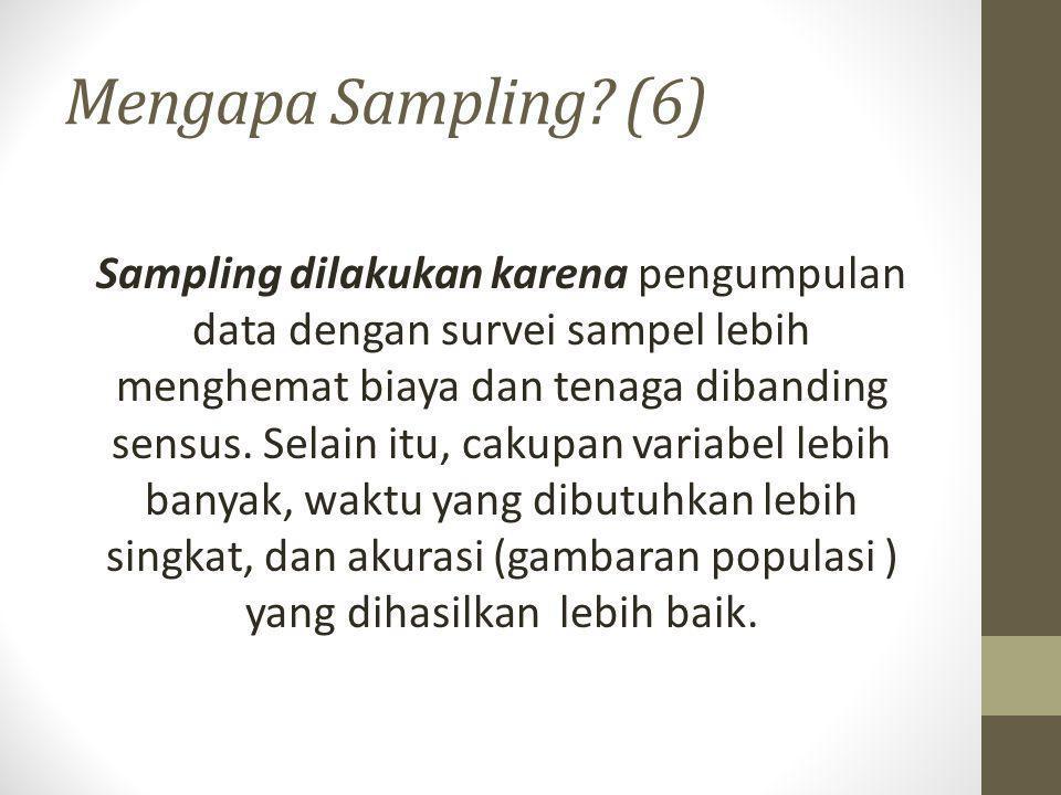 Mengapa Sampling (6)