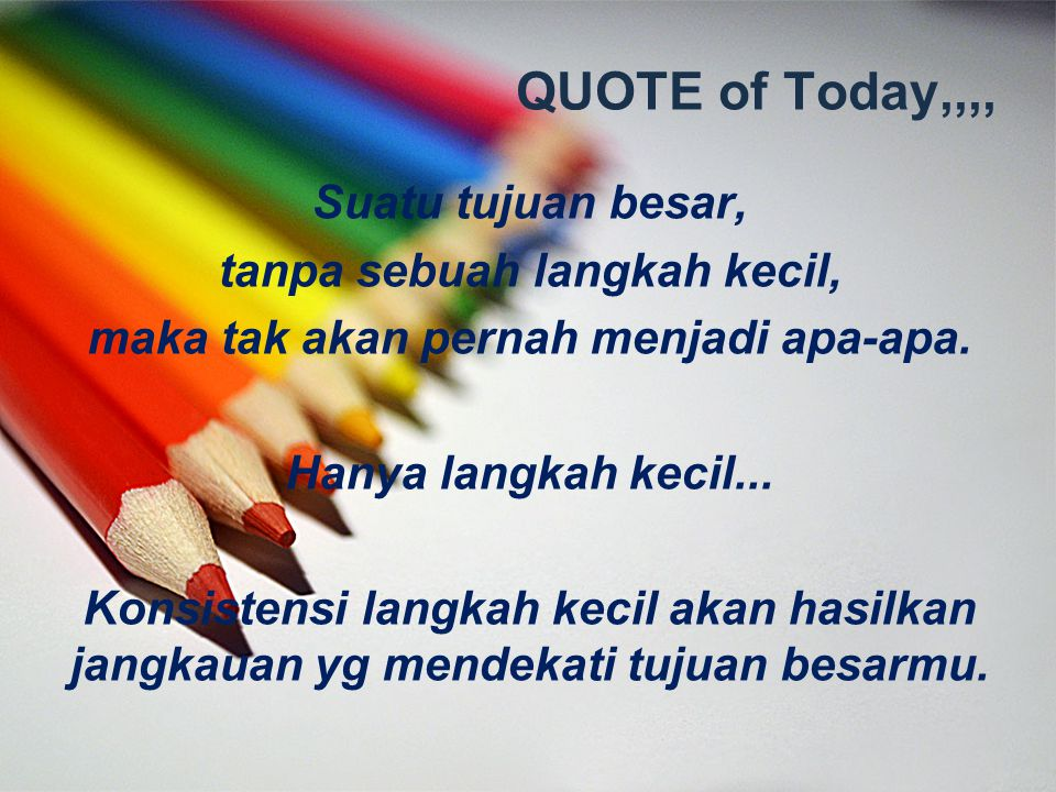 QUOTE of Today,,,,