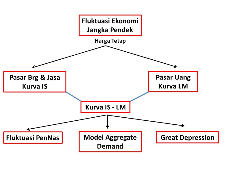 Fluktuasi Ekonomi Jangka Pendek Model Aggregate Demand