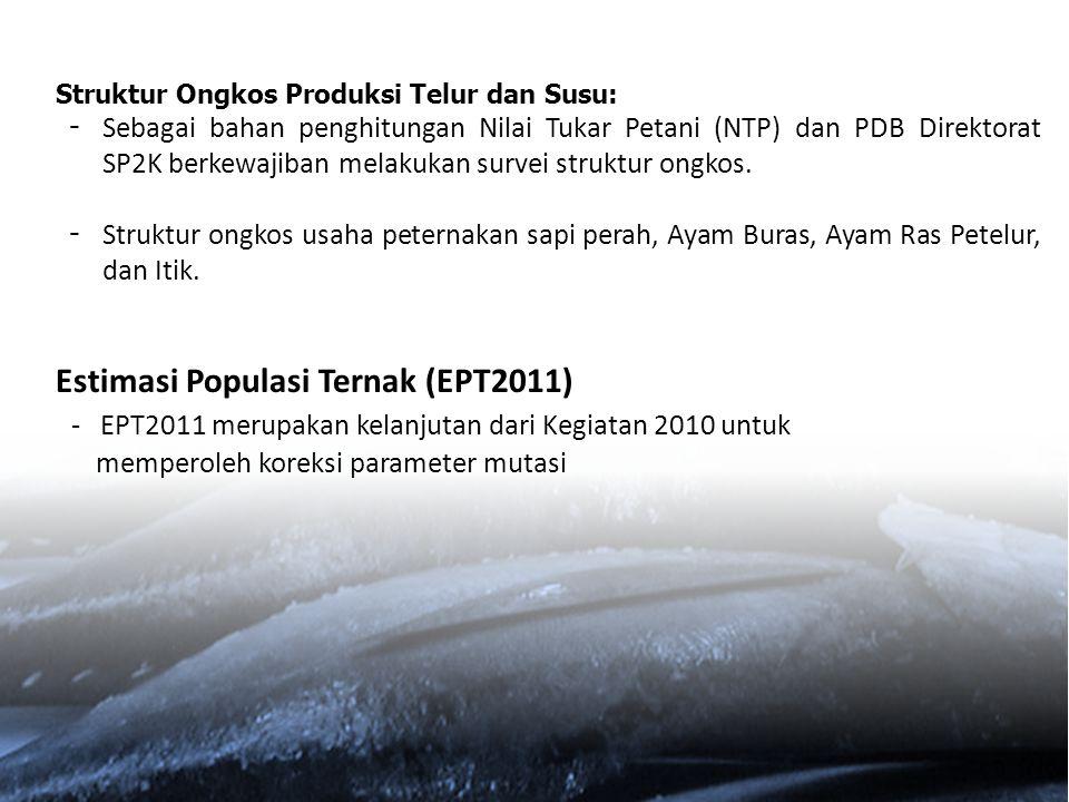 Estimasi Populasi Ternak (EPT2011)