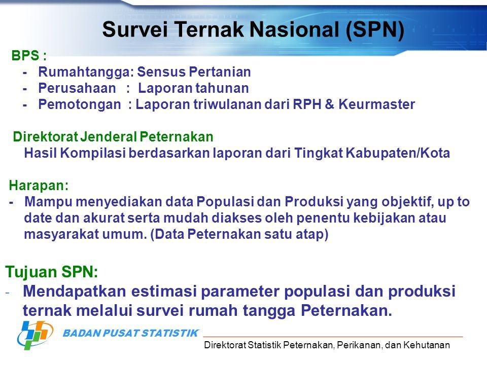 Survei Ternak Nasional (SPN)