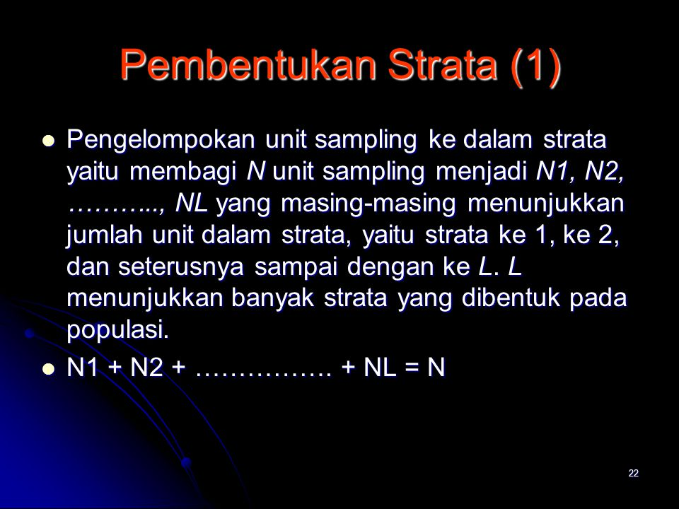 Pembentukan Strata (1)